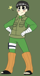 Rocklee!! by Ramencakeswithicing