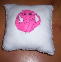 Mew Pillow by 1Meh1