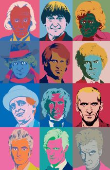Doctor Who Diptych by TabsMD