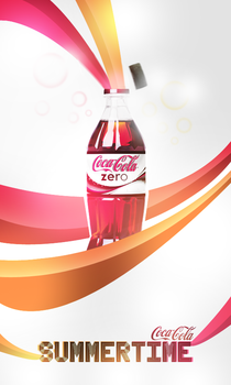 Coke Zero SUMMERTIME by eslis