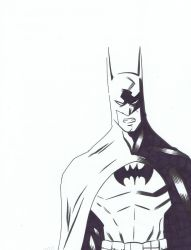 BATMAN sketch by diecast75