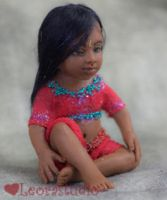 Anju, Indian Dollhouse Doll 2 by ALBuslovich