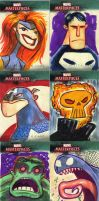 Marvel Masterpieces 5 by JeffVictor