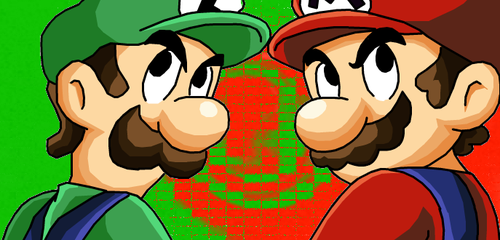 Mario and Luigi by eggmanrules