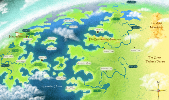 MS Paint Map by Yarbro