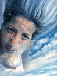 detail'Swim in the sky' by mahirates