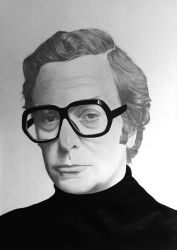 Michael Caine by Palmer0047