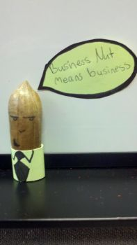 Business Nut means business by Zanowin