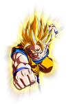 Goku Ssj by maffo1989