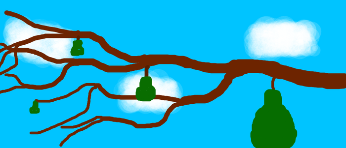 A horrible drawing of some pears. by That-irish-guy