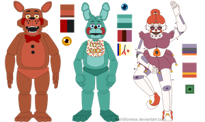 FNaF Grid Result #17 by weirdlioness