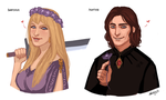 Martin and Victoria by Adelaiy