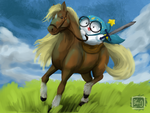 Legend of Allo: Boo of the Wild by BKcrazies0