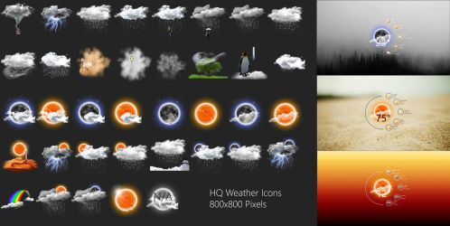 Realistic Weather Forecast 4  by HipHopium