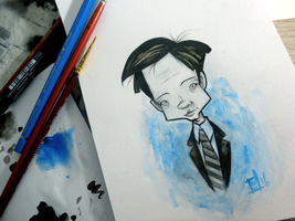 The X-Files - Fox Mulder by willymerry