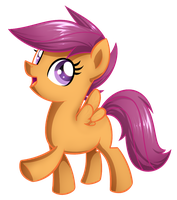 MLP - Scootaloo by Habijob
