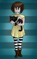 [Collab] Fran Bow by Crimson-Breeze