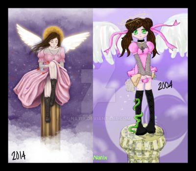 Angel: Then and Now by natix