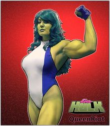 QueenRiot Hulking Out by yatz