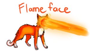 Flameface Fanart by ChewyOrphan