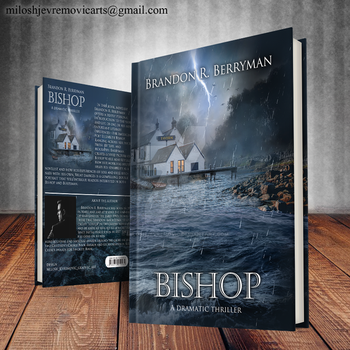 Book Cover Design for Bishop by MiloshJevremovic