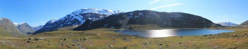 Sweden- The Kungsleden Panorama by Pharaun22