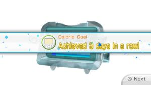 Calorie burning Goal Third Day in a Row by Keyotea