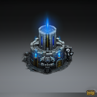 Isometric Temple by Sephiroth-Art
