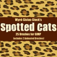 Spotted Cats by Wyrd-Sistas-Stock