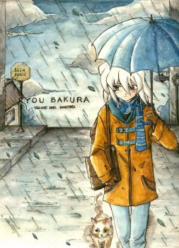 YGO- Walking in the Rain by mingming07