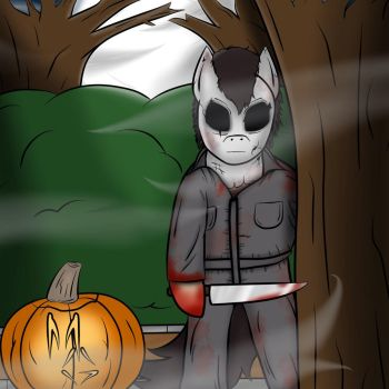 The Night He Came Home (Happy Halloween 2017) by MaskGamer