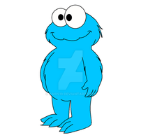 Cookie Monster by amos19