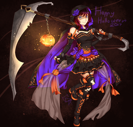 Happy Halloween! 2017 by InsertSomthinAwesome