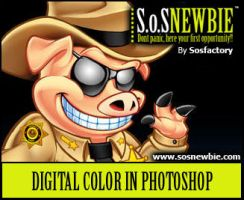 Photoshop Tutorial: coloring by SOSFactory