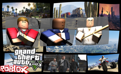 Gta V Roblox Edition By Misterfiter On Deviantart