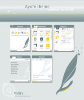 Ayofe Theme for Symbian S60v3 by eggy