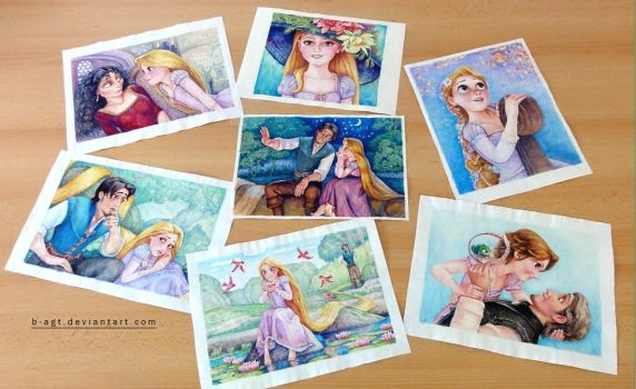 Collection Tangled Part 1 by B-AGT