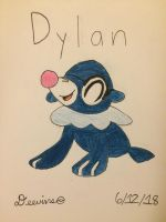 (Gift) Dylan the popplio by Deevins