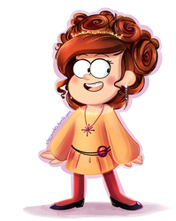 Fancy Mabel. by CherryVioletS