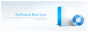 Software Box Icon by cemagraphics