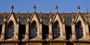 19th Century Arched Windows by DundeePhotographics