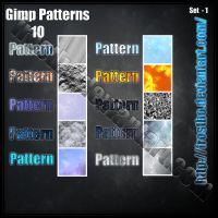Pattern GIMP set 1 by FrostBo