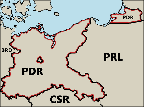 Prussian Democratic Republic by moenchii