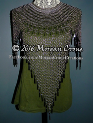 Updated Chainmaille Necklace by MorganCrone