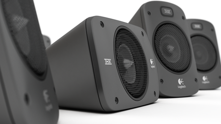 Logitech Sound System Rendering by xerix93