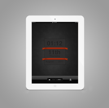 DarkMajic  iPad LockScreen by jessecheema