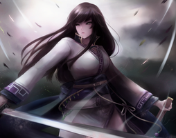 Fire Emblem - The Sword Vassal, Karla by leonmandala