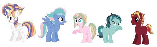 Recolor Adoptables #3 by ficklepickle9421