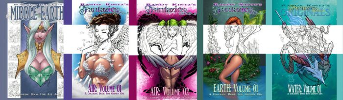 Coloring Book Covers by rantz