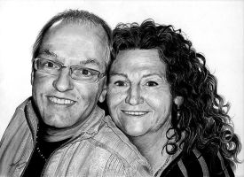 Marie-Lyne's parents by inyourfacemakeupart